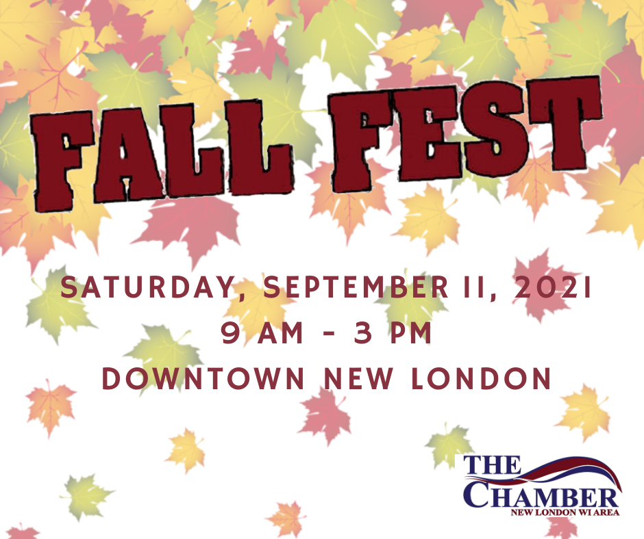 2021 Fall Fest New London Area Chamber of Commerce