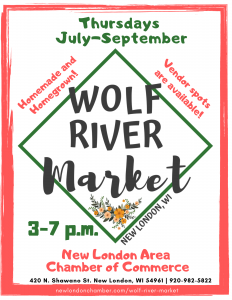 2021 Wolf River Market New London Area Chamber of Commerce