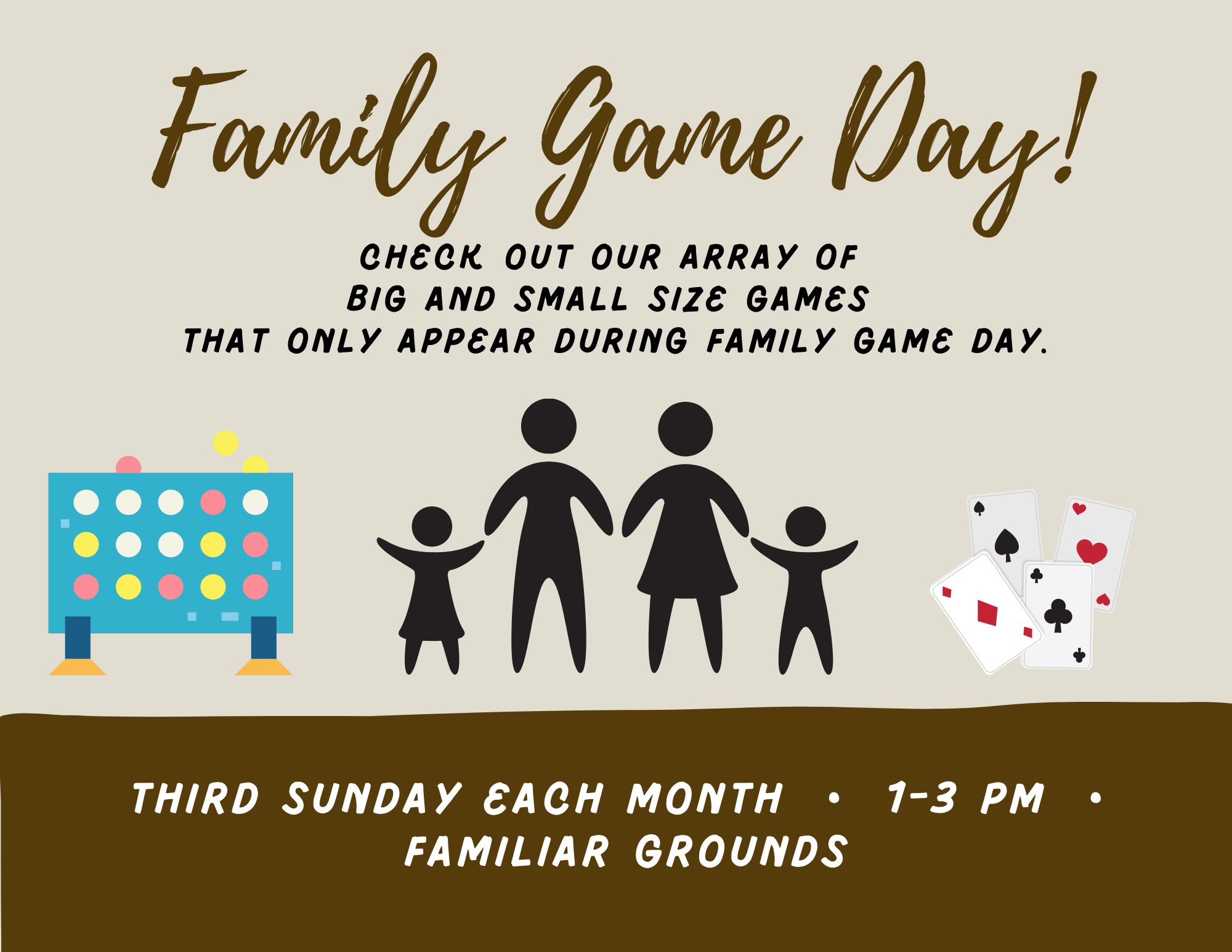 Familiar Grounds Game Day